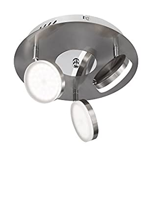WOFI Deckenlampe LED Hook metall/chrom