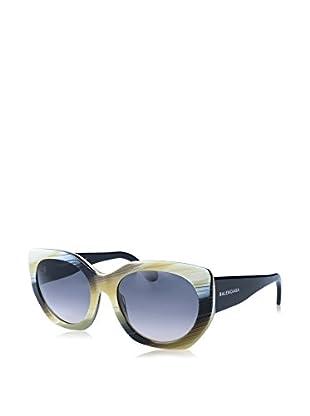 Balenciaga Gafas de Sol BA0017 20 140 64B (57 mm) Negro / Marfil