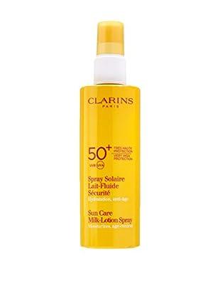 CLARINS Sonnenspray Lait-Fluide Securité SPF 50+ 150 ml, Preis/100 ml: 13.96 EUR