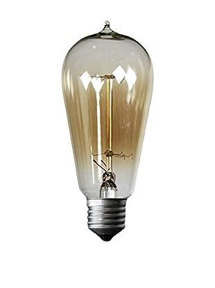 LO+DEMODA Glühbirne Edison Vintage 13-Clear ST58 Cristal transparente