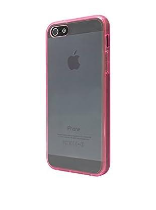 NUEBOO Hülle Fluor-Side iPhone 5/5S/Se rosa