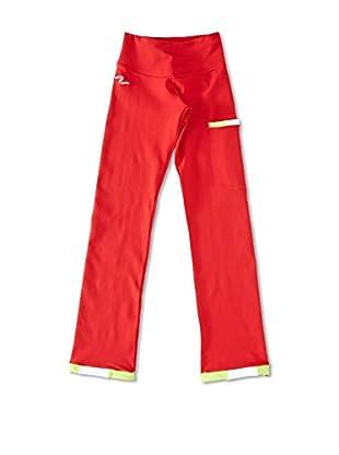Naffta Pantalón Ajustado Niña (Rojo / Verde Claro)