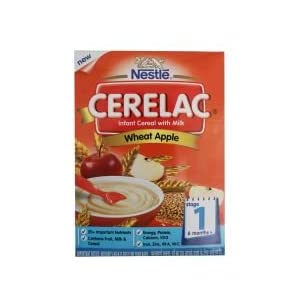 Cerelac Wheat Apple (Stage 1) - 375Gm - (Nestle)