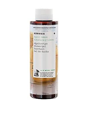 Korres Gel de Ducha Albahaca & Limón 40 ml