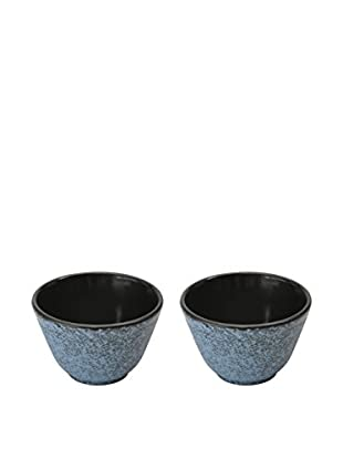 Berghoff Studio Cast Iron Small Tea Cup Set Blue (2X)