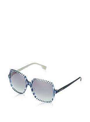 Hugo Orange Sonnenbrille 0033/S 57 (57 mm) blau/transparent