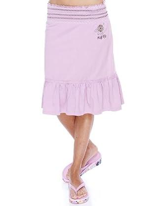 Rox Falda Sallón (rosa mate)