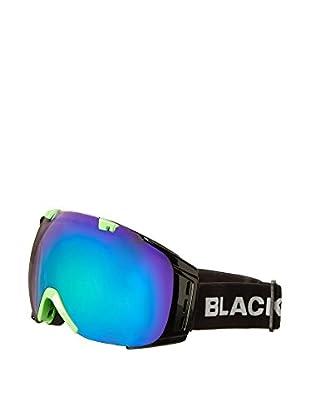 Black Crevice Skibrille Flachau schwarz/grün