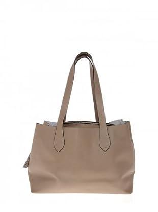 Elysa Tote-Bag mit Quaste (Taupe)
