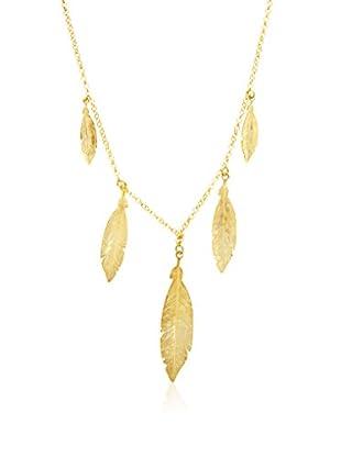Silver Luxe Collana argento 925 bagnato oro