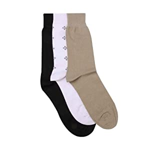 Peter England Men's Casual Socks-Set of 3