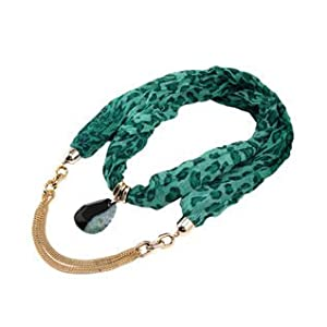 Alekhya Green Pendant Snood