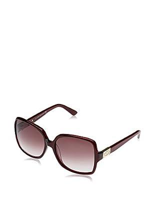 Tod'S Gafas de Sol TO0126 (58 mm) Burdeos