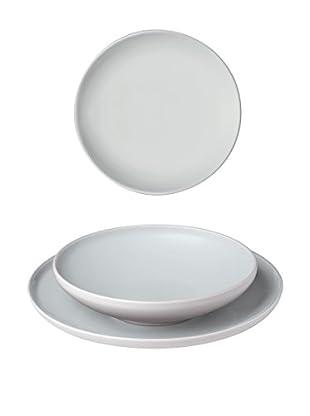 Bitossi Home Geschirr 18 Pz Sorbetto weiß
