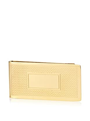 Black Jack 18K Gold Plated Stainless Steel ID Money Clip