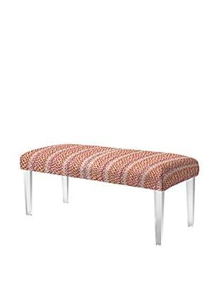 Jennifer Taylor Home Addison Acrylic Leg Bench, Multi