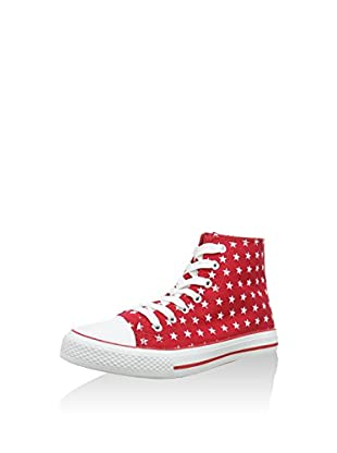 Red 3 Hightop Sneaker