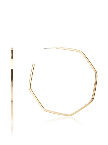 Jules Smith Gold Prism Hoops