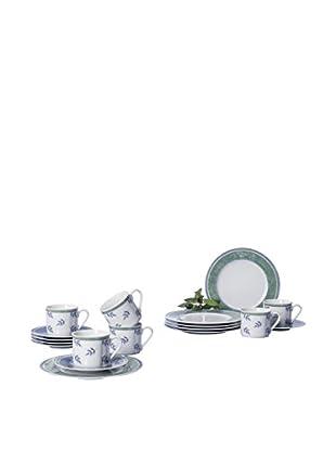 Villeroy & Boch Kit de Tazas Espresso con Platos 18 Piezas Switch 3 Costa