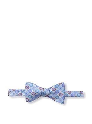 Bruno Piattelli Men's Floral Bow Tie, Blue