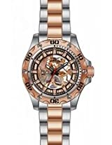 Invicta Specialty Translucent Rose Dial Two-Tone Mens Watch 15230