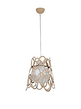 Light&Design Lámpara De Suspensión Arda Marrón
