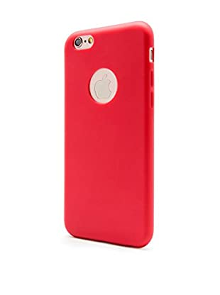 UNOTEC Hülle Second Skin iPhone 6/6S rot