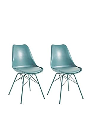13 Casa Stuhl 2er Set Marianne A4 blau