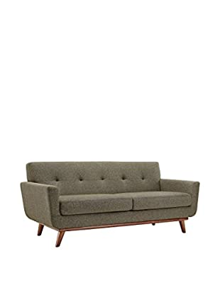 Modway Engage Loveseat, Oatmeal