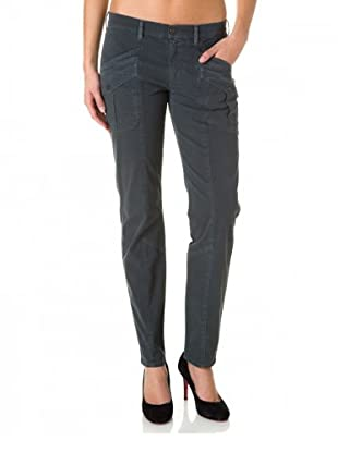 7 for all Mankind Cargohose Roxanne Cotton Drill (Grau)