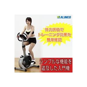 【クリックで詳細表示】ALINCO(アルインコ) エアロマグネティックバイク AF6200