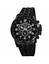 August Steiner Black Mens Watch As8118Bk
