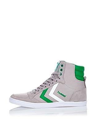 Hummel Sneaker Slimmer Stadil High (grau/grün/weiß)