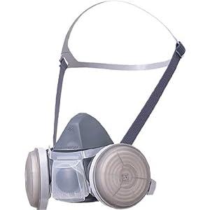 シゲマツ 取替え式防じんマスク DR22R-MS