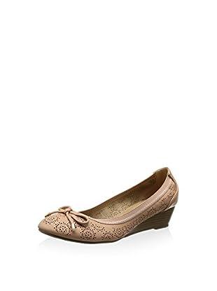 XTI Bailarinas Zapato Sra. C. Nude