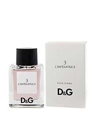 D&G Eau De Toilette Donna 3 L
