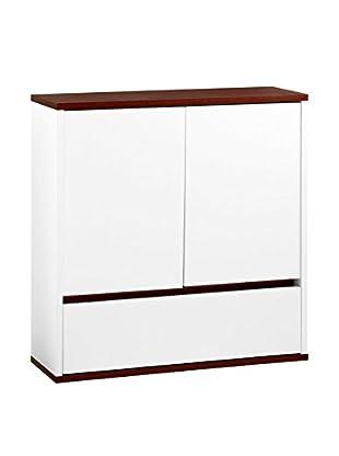 Premier Housewares Badschrank 2404050 weiß