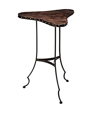 Artistic Lighting Clover Table, Dark Brown/Oil Rubbed Bronze