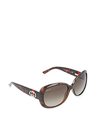 Gucci Sonnenbrille Polarized 3644/S HA DWJ (56 mm) havanna DE 56-17-135 (56-17-135)