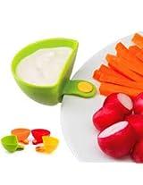 4Pcs Mini Salad Seasoning Box Delicious Food Spice Jar Seasoning Dishes Kitchen Supplies