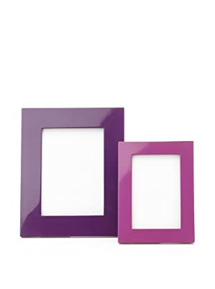 Mili Designs Large and Small Picture Frame Set (Dark Purple/Light Purple)