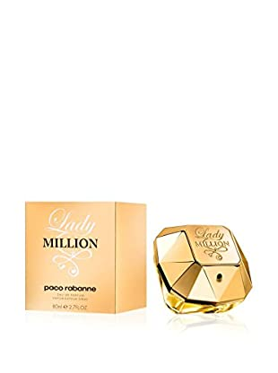 Paco Rabanne Eau De Parfum Donna Lady Million 80 ml