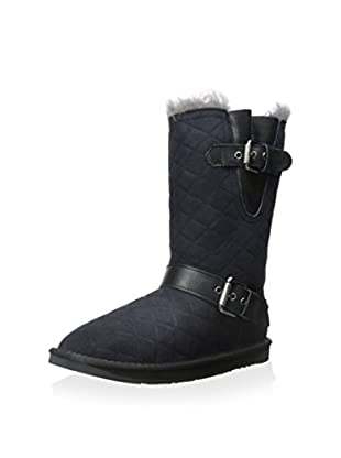 Australia Luxe Collective Women's Machina Quilted Mid Shearling Boot with Buckles