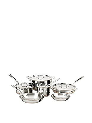 All-Clad 600822 Stainless Steel 10-Piece Copper Core Cookware Set