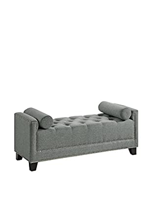 Baxton Studio Hirst Bedroom Bench, Grey