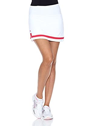 Naffta Falda Short Tenis / Padel (Blanco / Fucsia)
