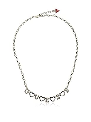 Guess Halskette Ubn81197 silberfarben