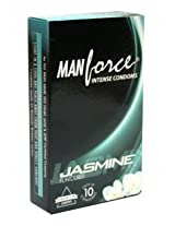 Manforce Intense Condoms - Jasmine Flavored (Pack of 10)