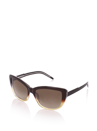 Theory Women's TH2134 Sunglasses, Maple Faded