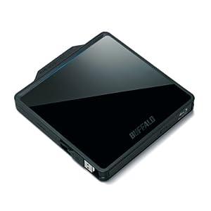 BUFFALOUSB2.0用 ポータブルブルーレイドライブ BRXL-PCW6U2-BK